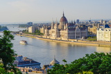 River Danube and Parliament Building, UNESCO World Heritage Site, Budapest, Hungary, Europe Photographic Print by Karl Thomas