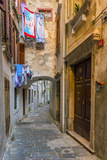 Alleyway, Old Town, Piran, Primorska, Slovenian Istria, Slovenia, Europe Photographic Print by Alan Copson