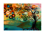Autumn Morning Giclee Print by Natasha Wescoat