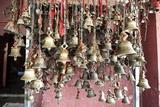 Hindu Bells, Rung by Devotees as an Invocation to the Deities to Hear their Prayers, Sivadol Mandir Reprodukcja zdjęcia autor Annie Owen