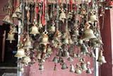 Hindu Bells, Rung by Devotees as an Invocation to the Deities to Hear their Prayers, Sivadol Mandir Photographic Print by Annie Owen