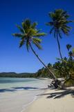 Playa Grande, Las Galeras, Semana Peninsula Fotografie-Druck von Michael Runkel