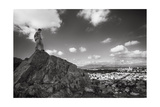 Vew From Tank Hill, San Francisco - View North To Marin Landscape Photographic Print by Henri Silberman