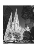 St. Patricks Cathederal, NYC Daytime 1 - New York City Landmark Midtown Manhattan Photographic Print by Henri Silberman