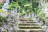 Statues in Daisho-In Buddhist Temple, Miyajima Island, Hiroshima Prefecture, Honshu, Japan, Asia Photographic Print by Christian Kober