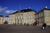 Amalienborg Palace, Winter Residence of the Danish Royal Family, Copenhagen Photographic Print by Simon Montgomery
