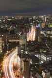 City Skyline, Ikebukuro, Tokyo, Honshu, Japan, Asia Photographic Print by Christian Kober