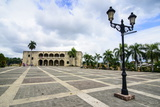Mueso Alcazar De Colon on the Plaza Espagna, Old Town, Santo Domingo Photographic Print by Michael Runkel