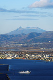 Hakodate Bay View, Hokkaido, Japan, Asia Photographic Print by Christian Kober