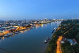 River Danube, Bratislava, Slovakia, Europe Photographic Print by Karl Thomas