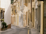 Narrow Street, Naxxar, Malta, Europe Photographic Print by Nick Servian