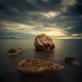 Quiet Rocks Photographic Print by Xose Casal Photography