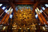 Guanyin Buddha with Many Smaller Buddhas at Yong Fu Temple, Hangzhou, Zhejiang, China, Asia Photographic Print by Andreas Brandl