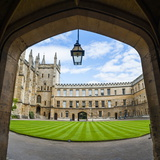Oxford University College, Oxfordshire, England, United Kingdom, Europe Photographic Print by Matthew Williams-Ellis