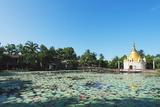 Lakeside Stupa, Bago, Myanmar (Burma), Asia Photographic Print by Christian Kober