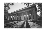 Prospect Park Peristyle Grecian Shelter With Columns - Classic Park Portico Photographic Print by Henri Silberman