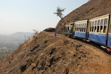The Toy Train That Climbs from Neral to the Road-Less Matheran Plateau, Matheran, Maharashtra Photographic Print by Tony Waltham