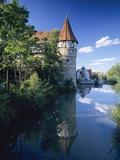 Zollernschloss Castle, Balingen, Swabian Alb, Baden Wurttemberg, Germany, Europe Photographic Print by Markus Lange