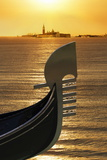 Gondola, Venice, UNESCO World Heritage Site, Veneto, Italy, Europe Photographic Print by Angelo Cavalli