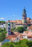 Cesky Krumlov, UNESCO World Heritage Site, Southern Bohemia, Czech Republic, Europe Photographic Print by Karl Thomas