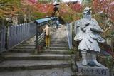 Karasu Tengu Statue in Daisho-In Buddhist Temple, Miyajima Island, Hiroshima Prefecture Photographic Print by Christian Kober