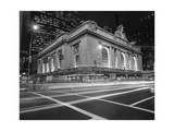 Grand Central Station, NY at Night - NY City Landmarks at Night Photographic Print by Henri Silberman