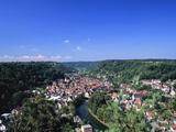 Sulz Am Neckar, Neckartal Valley, Baden Wurttemberg, Germany, Europe Photographic Print by Marcus Lange