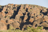 Sandstone Hills in the Domes Area of Purnululu National Park (Bungle Bungle) Photographic Print by Tony Waltham