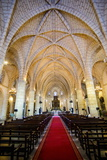 Interior of the Cathedral Primada De America, Old Town, Santo Domingo Photographic Print by Michael Runkel