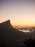 View from Chinese Vista at Dawn, Rio De Janeiro, Brazil, South America Papier Photo par Ben Pipe