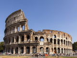 Colosseum, Rome, Lazio, Italy, Europe Photographic Print by Simon Montgomery