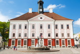 Town Hall, Raekoja Square (Raekoja Plats), Tartu, Estonia, Baltic States, Europe Photographic Print by Nico Tondini