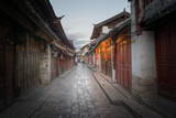 Shortly after Sunrise, Lijiang Old Town, UNESCO World Heritage Site, Lijiang, Yunnan, China, Asia Photographic Print by Andreas Brandl