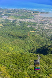 Teleforico, Only Cable Car in the Caribbean, Puerto Plata Photographic Print by Michael Runkel