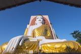 Gautama Buddha, Four Faces Paya, Kyaik Pun Paya, Bago, Myanmar (Burma), Asia Photographic Print by Christian Kober