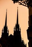 St. Peter and Paul Cathedral (Katedrala Sv Petra a Pavla), Brno, Southern Moravia Photographic Print by Karl Thomas