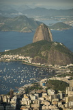 View from Cristo Redentor over Rio De Janeiro, Corcovado, Rio De Janeiro, Brazil, South America Photographic Print by Ben Pipe