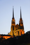 St. Peter and Paul Cathedral (Katedrala Sv Petra a Pavla), Brno, Southerm Moravia Photographic Print by Karl Thomas