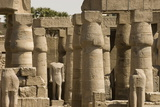 Great Court of Ramses Ii, Luxor Temple, Luxor, Thebes, Egypt, North Africa, Africa Photographic Print by Tony Waltham