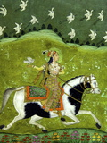 Sultan Razia of Delhi, 18th Century, Archaeological Museum, Red Fort, Delhi, India, Asia Lámina fotográfica por Peter Barritt