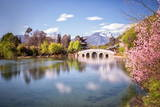 Heilongtan (Black Dragon Pool) in a Long Exposure, Lijiang, Yunnan, China, Asia Photographic Print by Andreas Brandl