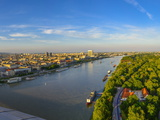 Aupark, River Danube, Bratislava, Slovakia, Europe Photographic Print by Karl Thomas