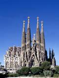 Sagrada Familia Barcelona Photographic Print by Peter Phipp