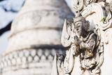 Temple Detail, Nget Pyaw Taw Pagoda, Pindaya, Myanmar (Burma), Asia Photographic Print by Christian Kober