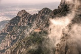 The Chapel on Top of the Sacred Cave in Monserrat Photographic Print by David DeSousa Drumond Photography