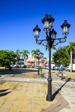 Town Square of Puerto Plata, Dominican Republic, West Indies, Caribbean, Central America Photographic Print by Michael Runkel