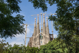 View of the Sagrada Familia Photographic Print by  Maremagnum