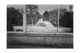 Vintage Car Behind Window - Interior With Old Car Photographic Print by Henri Silberman