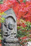 Statue in Daisho-In Buddhist Temple, Miyajima Island, Hiroshima Prefecture, Honshu, Japan, Asia Photographic Print by Christian Kober