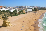 Fisherman Beach, Albufeira, Algarve, Portugal, Europe Photographic Print by G&M Therin-Weise